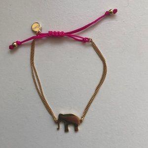 Stella & Dot Jewelry - Stella & Dot Pink Elephant Bracelet